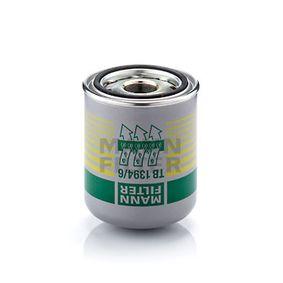 Køb MANN-FILTER Lufttørrerpatron, trykluftanlæg TB 1394/6 x