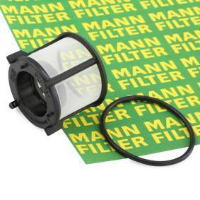 palivovy filtr PU 51 x MANN-FILTER Zabezpečená platba – jenom nové autodíly