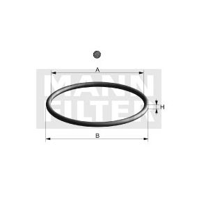 Junta, filtro de óleo Di 108-10 MANN-FILTER Pagamento seguro — apenas peças novas