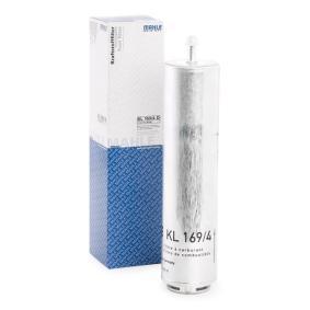 palivovy filtr KL 169/4D s vynikajícím poměrem mezi cenou a MAHLE ORIGINAL kvalitou