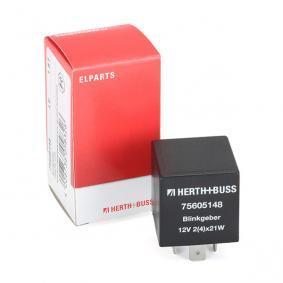 compre HERTH+BUSS ELPARTS Relé de intermitência 75605148 a qualquer hora