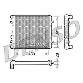 Radiateur, refroidissement du moteur DRM32002 DENSO Paiement sécurisé — seulement des pièces neuves