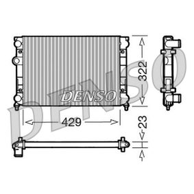 Radiateur, refroidissement du moteur DRM32007 DENSO Paiement sécurisé — seulement des pièces neuves