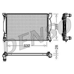 Radiateur, refroidissement du moteur DRM02033 DENSO Paiement sécurisé — seulement des pièces neuves
