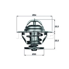 BEHR THERMOT-TRONIK Termostato, Raffreddamento olio TO 2 83 acquista online 24/7