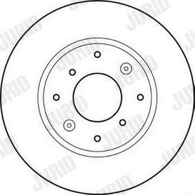 Disque de frein 561621J JURID Paiement sécurisé — seulement des pièces neuves