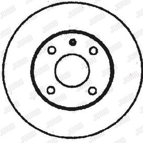 Brake Disc 561709J JURID Secure payment — only new parts