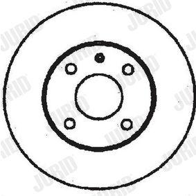 Disque de frein 561709J JURID Paiement sécurisé — seulement des pièces neuves