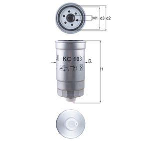 palivovy filtr KC 103 KNECHT Zabezpečená platba – jenom nové autodíly