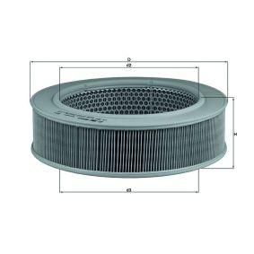 въздушен филтър LX 264 с добро KNECHT съотношение цена-качество