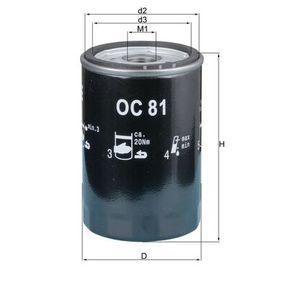 Oljefilter OC 81 som är helt KNECHT otroligt kostnadseffektivt
