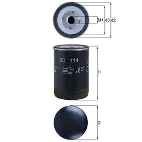 Oljefilter OC 114 som är helt KNECHT otroligt kostnadseffektivt