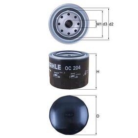 Filtre à huile OC 204 KNECHT Paiement sécurisé — seulement des pièces neuves