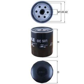 Filtr oleju KNECHT OC 501 kupić i wymienić