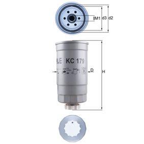 palivovy filtr KC 179 KNECHT Zabezpečená platba – jenom nové autodíly