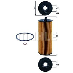 buy and replace Oil Filter KNECHT OX 361/4D