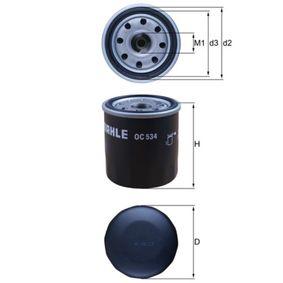 Achetez et remplacez Filtre à huile OC 534