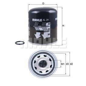 Buy KNECHT Air Dryer Cartridge, compressed-air system AL 24