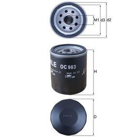 Ölfilter OC 983 KNECHT Sichere Zahlung - Nur Neuteile