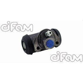 Pērc CIFAM Riteņa bremžu cilindrs 101-005 jebkurā laikā