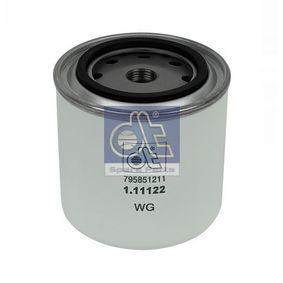 acheter DT Filtre de liquide de refroidissement 1.11122 à tout moment