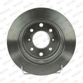 спирачен диск DDF248C-1 за NISSAN NV200 на ниска цена — купете сега!