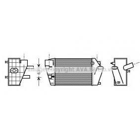 PRASCO интеркулер (охладител за въздуха на турбината) AI4187 купете онлайн денонощно