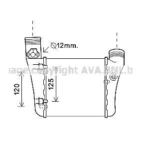PRASCO Intercooler AIA4333 acquista online 24/7