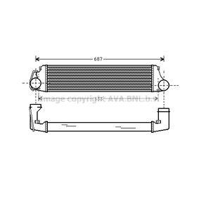 compre PRASCO Radiador do ar de sobrealimentação BW4207 a qualquer hora