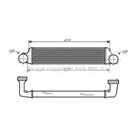 compre PRASCO Radiador do ar de sobrealimentação BW4280 a qualquer hora