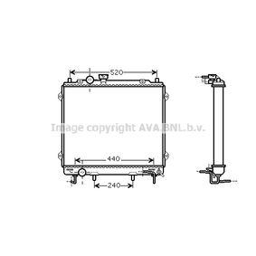 Radiatore, Raffreddamento motore PRASCO FT2140 comprare e sostituisci