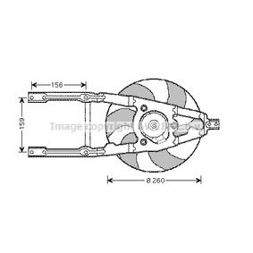 Ventola Raffreddamento motore FRIGAIR 0504.1191