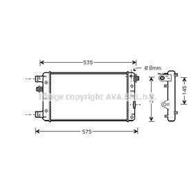 PRASCO Radiatore, Raffreddamento motore FTA2239 acquista online 24/7