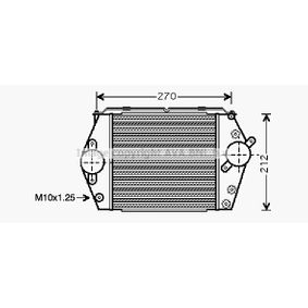 PRASCO Intercooler MZ4188 acquista online 24/7