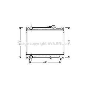 Radiatore, Raffreddamento motore PRASCO SZA2046 comprare e sostituisci