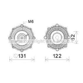 Clutch, radiatorventilator TOC593 kjøp - 24/7