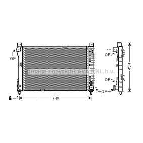 Achetez et remplacez Radiateur, refroidissement du moteur VW2204