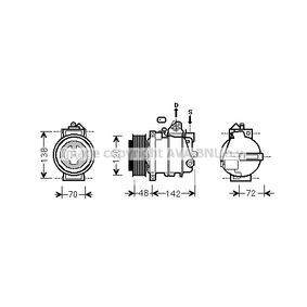 PRASCO Chłodnica, układ chłodzenia silnika VWA2045 kupować online całodobowo