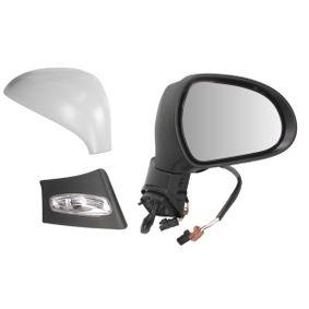 9 1x Au/ßenspiegel rechts f/ür elektrisch Spiegelverstellung konvex beheizbar mit Blinklicht mit Temperatursensor Pol-Anzahl