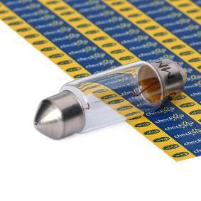 Original MAGNETI MARELLI Glödlampa, skyltbelysning 009418100000 beställa högsta kvalitet