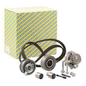 Vodna crpalka+kit-komplet zobatega jermena KDP457.370 Golf IV Hatchback (1J) 1.9 SDI 68 KM originalni deli-Ponudba