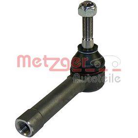 Compre e substitua Rótula da barra de direcção METZGER 54044418