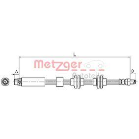 Flessibile del freno 4110143 con un ottimo rapporto METZGER qualità/prezzo