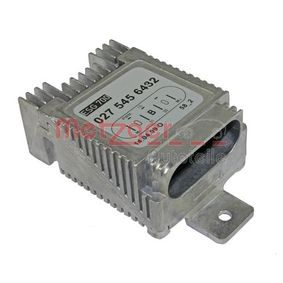 buy METZGER Control Unit, electric fan (engine cooling) 0917035 at any time