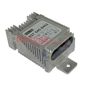 METZGER Vezérlőegység, elektromos ventillátor (motorhűtés) 0917035 - vásároljon bármikor