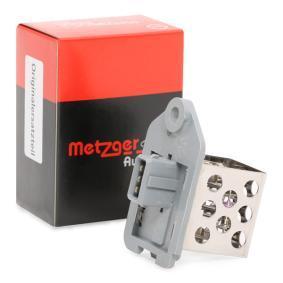 METZGER Centralina, Ventola elettr. (Raffreddamento motore) 0917051 acquista online 24/7