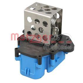 METZGER Centralina, Ventola elettr. (Raffreddamento motore) 0917052 acquista online 24/7