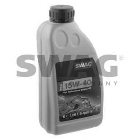 ostke ja asendage Mootoriõli SWAG 15 93 2925