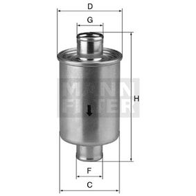 Order W 79/2 MANN-FILTER Filter, operating hydraulics now
