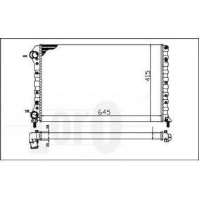 Radiatore, Raffreddamento motore 016-017-0019 con un ottimo rapporto STARK qualità/prezzo
